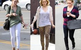 Hilary Duff gợi cảm với xì-tai quần ôm sát