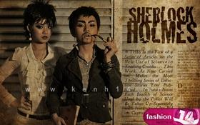 """Cô nàng """"Sherlock Holmes"""""""