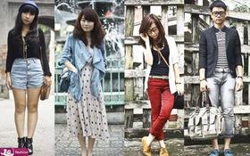 Nghía street style của teen Hà thành