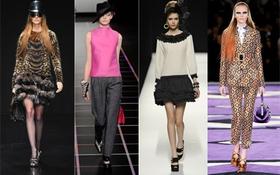 """10 xu hướng Thu/Đông """"đình đám"""" của Milan Fashion Week 2012"""