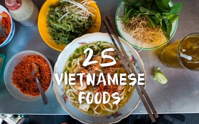 25 món ăn ngon nhất Sài Gòn qua video của chàng trai Mỹ