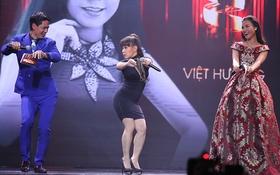 Việt Hương nhảy vũ điệu cồng chiêng khiến khán giả cười bò