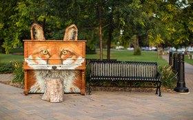 Thích thú với những cây đàn Piano đầy màu sắc trên khắp thế giới