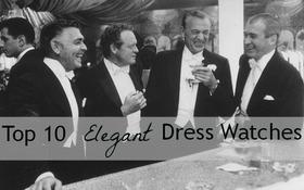 """Top 10 chiếc đồng hồ """"dress watch"""" lịch lãm nhất dành cho nam giới (P.1)"""