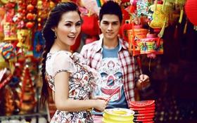 Dạo phố Trung Thu cực xinh cùng Kelly và Philip Huỳnh