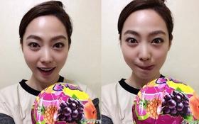 """Nữ cơ thủ xinh đẹp nhất xứ Hàn khoe ảnh """"xì tin"""" tại Trung Quốc"""