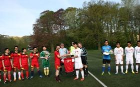 U19 Việt Nam thắng đội Du học sinh tại Bỉ với tỷ số 28-0