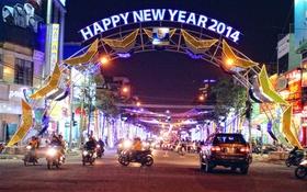 Đà Nẵng - Tam Kỳ - Cần Thơ lung linh phố đêm đón Tết