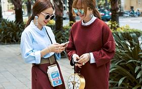 """Diện street style Thu/Đông """"chất"""" cùng Yến Trang - Yến Nhi"""