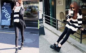 Tips mặc ấm-đẹp-an toàn với legging mùa đông này