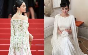 """Phạm Băng Băng, Lý Nhã Kỳ """"chung"""" ý tưởng váy áo tại Cannes 2015"""