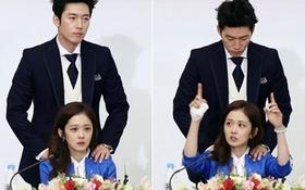 Jang Hyuk nhiệt tình mát-xa cho Jang Nara