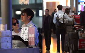 """Lộ ảnh hẹn hò tình cảm của Chae Rim và """"Tiêu Kiếm"""""""