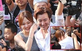 """Màn cầu hôn độc đáo giữa biển người của Chae Rim và """"Tiêu Kiếm"""""""