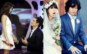 Lãng mạn những màn cầu hôn trước đám đông của sao châu Á