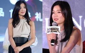 Jeon Ji Hyun đáng yêu với gương mặt bầu bĩnh ở Trung Quốc