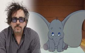 """Chú voi bay Dumbo sẽ được """"hiện thực hóa"""" bởi Tim Burton"""