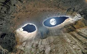 """Hang động """"Đôi mắt Chúa Trời"""" vô cùng ấn tượng ở Bungari"""