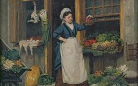 Vẻ đẹp của chợ qua mắt nhìn một họa sĩ Pháp
