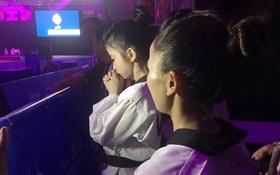 Hot girl Taekwondo Châu Tuyết Vân khóc nức nở vì trọng tài xử ép