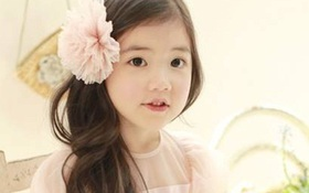 """Cô bé có vẻ đẹp thiên thần gây """"sốt"""" mạng xã hội Hàn Quốc"""