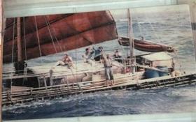 Gặp người Việt vượt đại dương bằng bè mảng