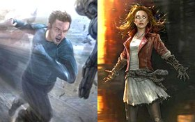 Cặp song sinh Quicksilver - Scarlet Witch (The Avengers 2) ra mắt