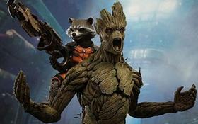 Netizen phát sốt vì mô hình như thật của Groot - Rocket (Vệ Binh Dải Ngân Hà)