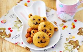 Bánh gấu cute giúp teen học bài nhanh thuộc