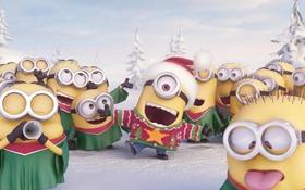 Minion quậy tưng bừng cùng ca khúc Giáng sinh