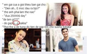 """Hot teen Việt và những màn """"khẩu chiến"""" trên Facebook"""