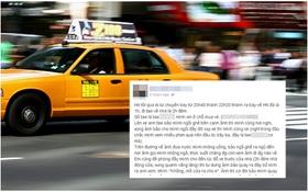 """Cô gái Hà Nội vạch trần thói """"yêu râu xanh"""" của tài xế taxi"""