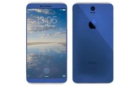 Mãn nhãn ý tưởng iPhone 7 viền màn hình mỏng, mặt lưng cong
