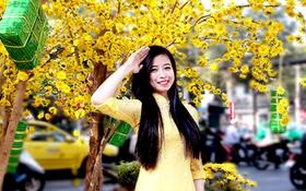 Hotgirl làng võ Châu Tuyết Vân và điều ước trong năm Ất Mùi