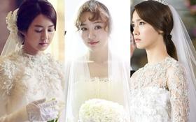 Ngắm nhan sắc rực rỡ của các cô dâu màn ảnh Hàn cuối 2013