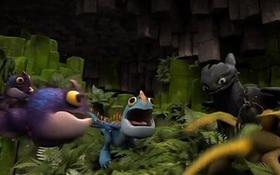 """Rồng răng sún (Bí Kíp Luyện Rồng 2) có thêm """"đồng đảng"""""""