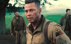 Brad Pitt hóa chỉ huy xe tăng anh hùng trong Thế Chiến 2