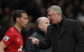Ferguson xúi Ferdinand bỏ tuyển Anh?