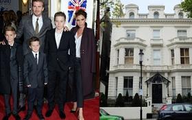 Beckham sắm sửa đồ đạc cho biệt thự 1.320 tỷ đồng ở London