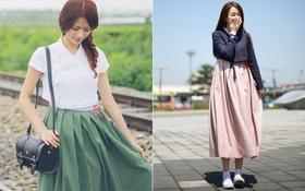 """Giới trẻ Hàn đồng loạt lăng xê hanbok cách điệu thành """"hot trend"""""""
