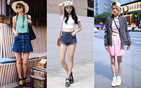 """Street style thế giới tuần qua: Crop-top """"lên ngôi"""" cùng layering"""