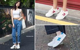 """Giới trẻ Hàn lại mê mệt sneaker đơn giản mà siêu """"cool"""" của New Balance"""