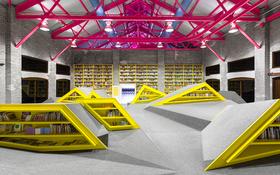Thư viện sách kiểu sân chơi độc đáo dành cho trẻ em tại Mexico