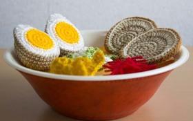 Ngất ngây với tô mì ramen ngon tuyệt được làm từ... len