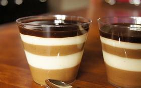 Panna cotta pha thạch cà phê mát rượi