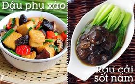 Gợi ý cách thêm hương vị cho bữa tối chay tịnh