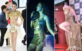 """Vbiz, Kbiz và Cbiz - kiều nữ showbiz nào mặc """"bạo"""" nhất năm 2013?"""