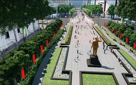 Người dân Sài Gòn nói gì về quảng trường đi bộ chuẩn bị thi công?