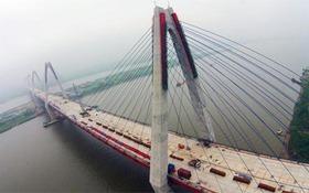 Hà Nội giữ nguyên tên gọi chính thức cầu Nhật Tân