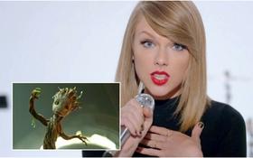 """Taylor Swift gây sốt khi đọ vũ đạo với """"vệ binh Groot"""""""